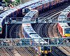 The government has cut £1bn from the rail infrastructure budget