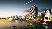 Major riverside development in east London bought by Singapore firm