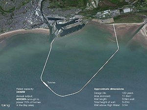 £756m Swansey tidal lagoon scheme awaiting approval