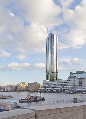 Isle of Dogs tower submitted for planning
