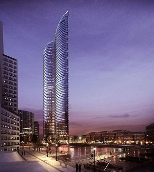 Green light for Canary Wharf residential tower