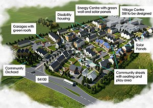 Construction of UK's first eco-town begins