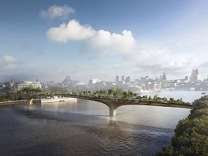 £30m funding for Heatherwick's Thames 'Garden Bridge'