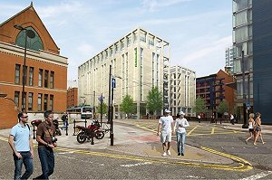 Go-ahead for 300-room Manchester hotel