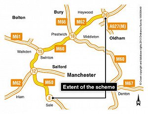 Contractors announced for £184m 'smart motorway' job
