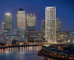Works begin on Canary Wharf's first residential tower