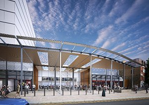 Revised Crossrail upgrade scheme for Euston Station approved