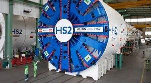 HS2 starts tunnelling in northwest London