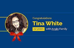 Congratulations to Tina White!