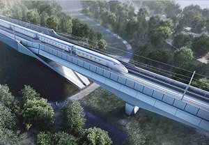 The Colne Valley Viaduct will be one of HS2's most iconic structures