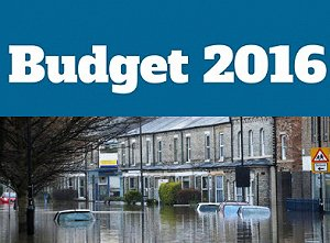 Budget 2016: £700m towards flood defence work