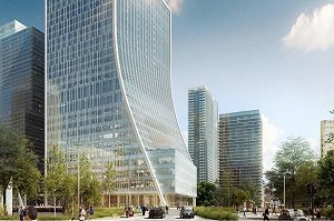 Planning approved for Canary Wharf Group's 1 Bank Street scheme