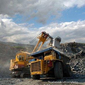 Opencast mines in Scotland