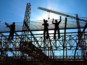 February 2015 sees a surge in UK construction activity
