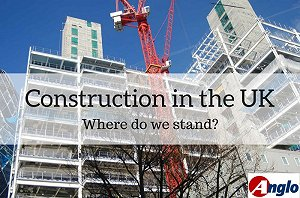 UK Construction - pic of London buildings & cranes