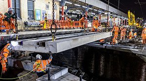 Network Rail carries out £31m Easter rail upgrades across network
