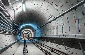 Crossrail's first tunnel completed