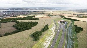 Turner & Townsend wins £23.3m Lower Thames Crossing contract