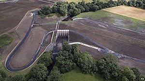 £26m flood scheme opens in Morpeth