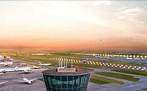 Heathrow delays third runway construction by three years.