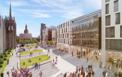 Muse lodged £107m Aberdeen city square scheme