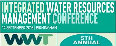 Water management conference banner