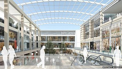 Green light for £500m Oxford Westgate Shopping centre
