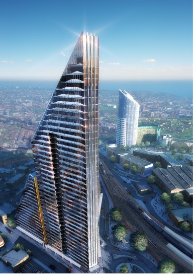 Bouygues proposes the Portsmouth Shard