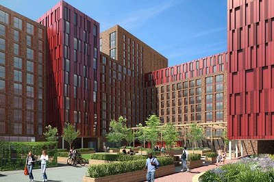 Go-ahead for UNITE's £93m London student halls