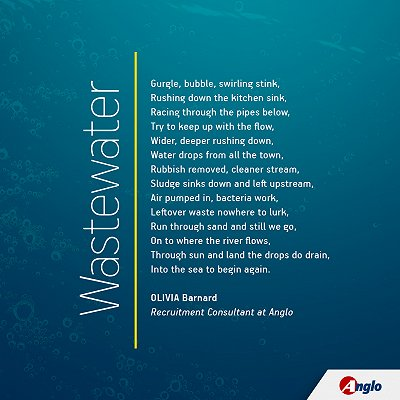 Wastewater jobs poem