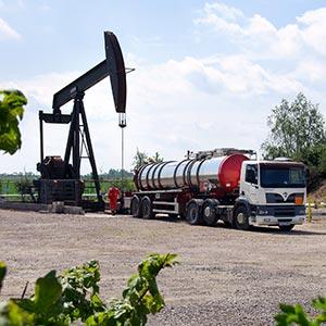 Onshore drilling activity. Photo courtesy of the United Kingdom Onshore Operators Group