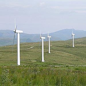 Wind farm blows boost into Wales