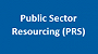 Public Sector Resourcing (PRS)