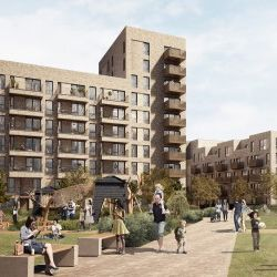 An artist's impression of the scheme. Photo courtesy of East Thames