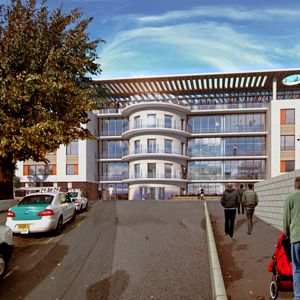 An artist's impression of the redeveloped hospital. Photo courtesy of Brighton and Sussex University Hospitals