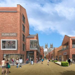 An artist's impression of the development. Photo: Willmott Dixon