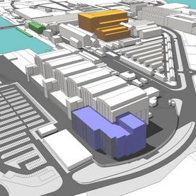 An artist's impression of the redevelopment. Photo: BAE Systems plc