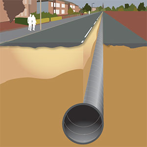 Boost for Glasgow's sewers