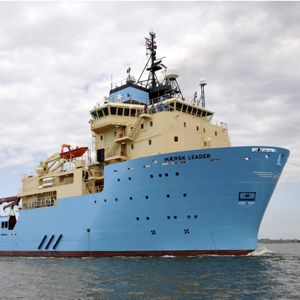 A Maersk subsea support vessel. Photo courtesy of Maersk