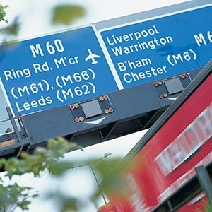 17 miles of the Manchester orbital route will be upgraded. Photo: The Highways Agency