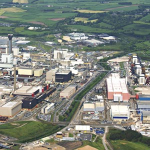 An aerial view of the Sellafield site. Photo: Sellafield Ltd