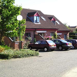 An example of sheltered housing. Photo: Janet Tench