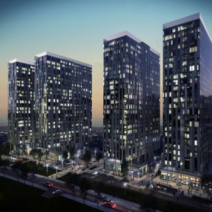 An artist's impression of the four towers. Photo courtesy of Knight Knox International