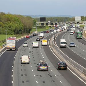 Smart Motorway in action on the M25. Photo: Highways Agency