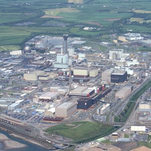 An aerial view of the Sellafield site. Photo courtesy of Balfour Beatty