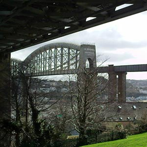 The Royal Albert Bridge spanning the River Tamar. Photo: Paul Harris