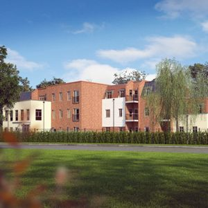 An artist's impression of one of the housing developments. Photo courtesy of Galliford Try