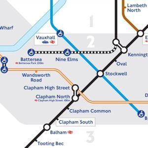 A London Underground map showing the route of the extension. Photo: Transport for London