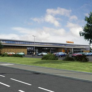 An artist's impression of the new superstore. Photo: Terrace Hill