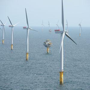 Statoil's Sheringham Shoal wind farm off the Norfolk coast. Photo courtesy of Alan O Neill/Statoil.